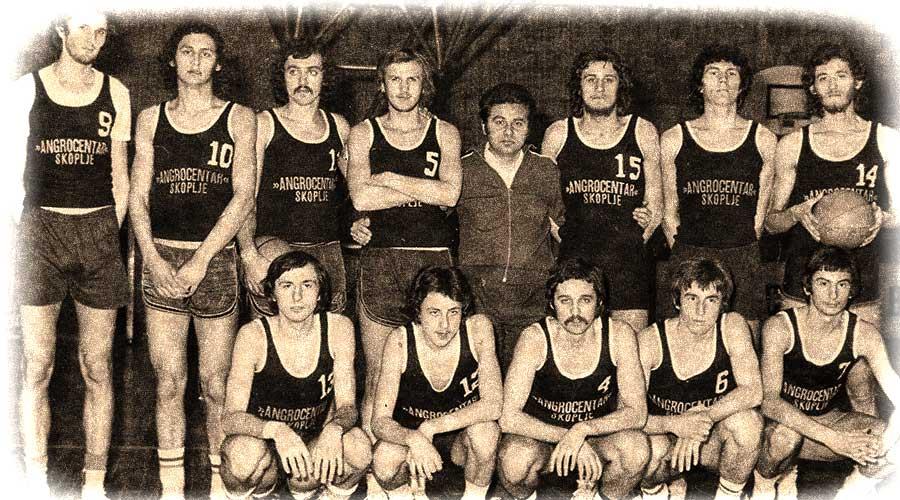KK Dinamo Pančevo 1972. godine