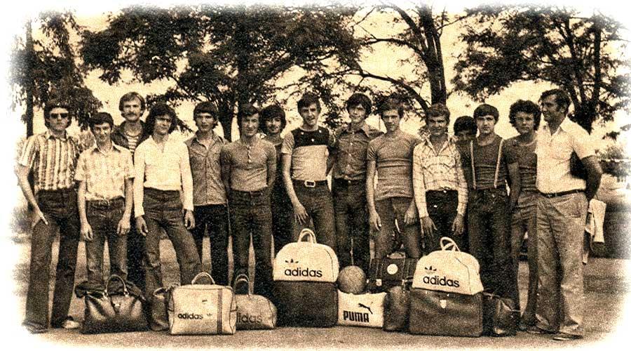 Boža Forgo i juniori KK Danama 1979. godine