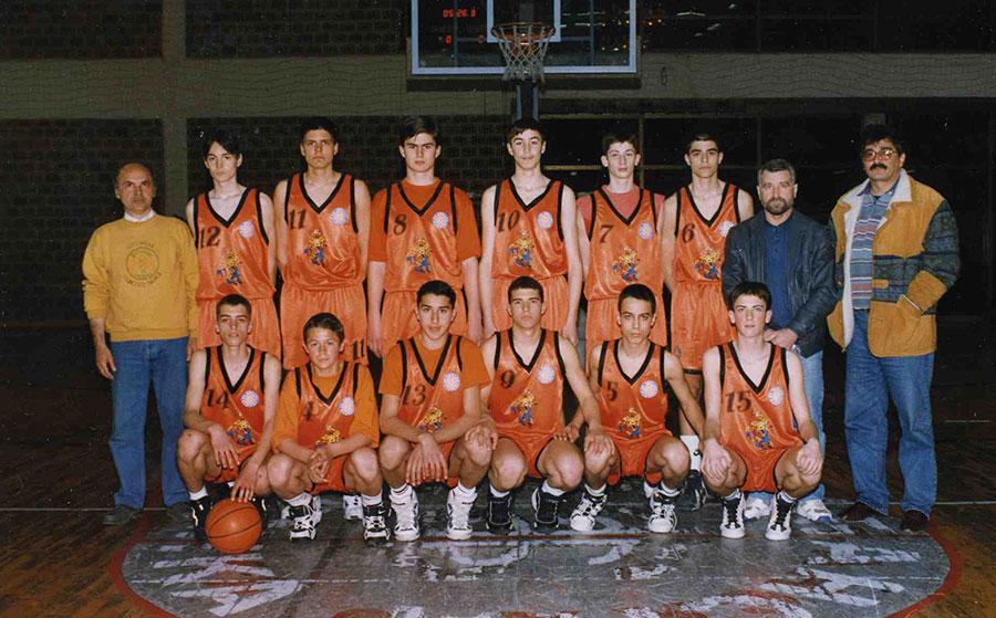 Juniori KK Dinamo 1999. godine