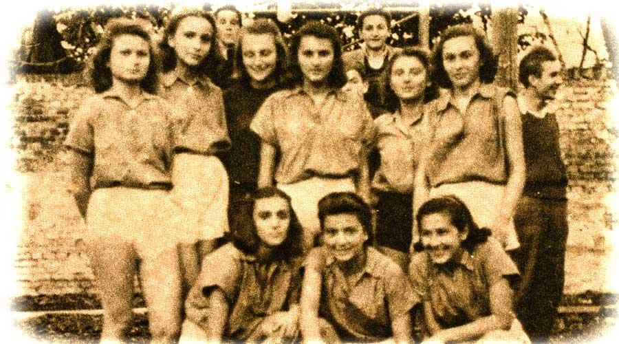 Juniorke KK Dinama 1948. godine