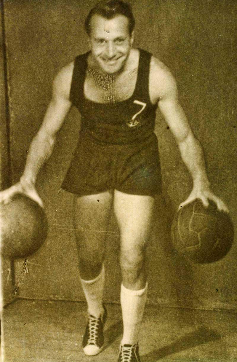 Mileta Tešin 1946. godine