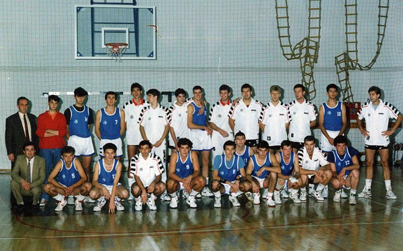 KK Dinamo - Partizan - Otvaranje poljoprivredne škole 1989. godine
