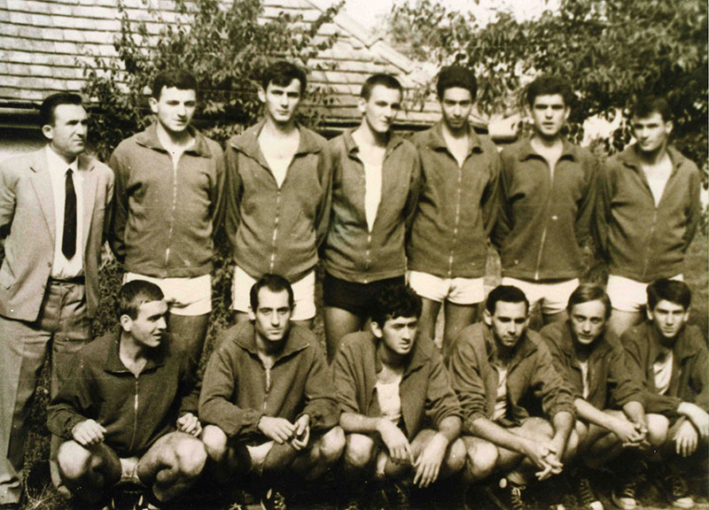 KK Dinamo - povratak u Srpsku ligu 1965. godine