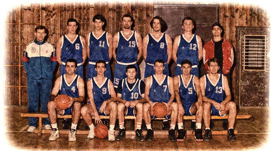 KK Dinamo Pančevo 1997. godine