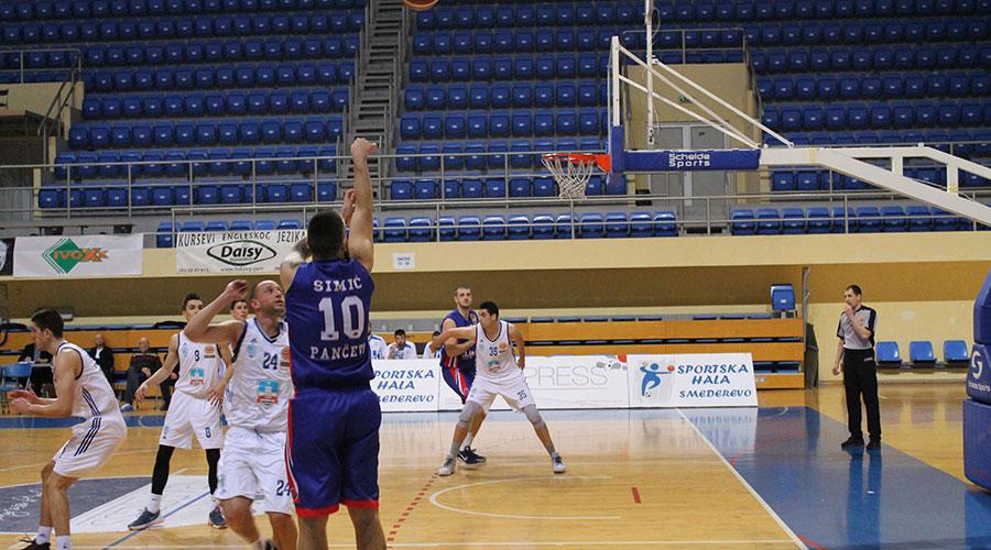 Košarkaši Tamiša dobili Smederevo na gostovanju, u 23. kolu KLS