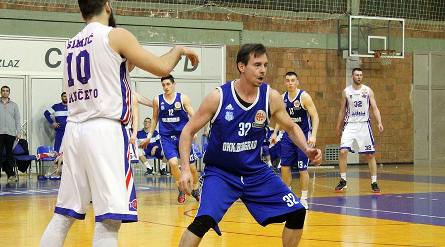 Košarkaški klub Tamiš pobedio je u Hali sportova ekipu OKK Beograd rezultatom 78:70 u 20. kolu Košarkaške lige Srbije.